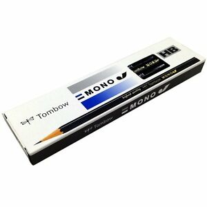 Tombow MONO J HB Wood-cased Pencils 12-Piece