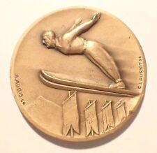 Medal - Hop A Ski Mont Gold 1971 Signed Lauriot Bronze (6624J)