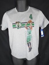 Boston Celtics Isaiah Thomas Youth Size L Large 10/12 Gray Shirt MSRP $26