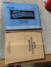 Original Funhouses set Williams Pinball game Manual