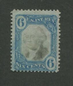 1871 US Documentary Revenue Stamp #R108 Used Faded Cancel