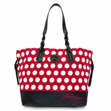 WHAT DISNEY WORLD DOONEY AND BOURKE MINNIE ROCKS THE DOTS LARGE TOTE BAG NEW