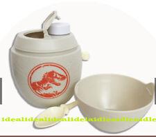 Jurassic World 2 Fallen Kingdom Authentic Breakfast BOWL set cup tub Dino EGG