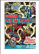 New Gods #2 1st cover & 2nd overall app of Darkseid.  Lower mid grade. Kirby!