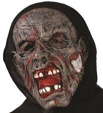 Halloween Fancy Dress Hooded Zombie Mask Horror Mask #93210 New