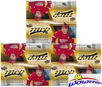 (3) 2019/20 Upper Deck MVP Hockey MASSIVE Factory Sealed 36 Pack Retail Boxes !