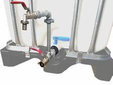 """Schwanenhals Metall DN 50 IBC Container Regenwassertonne Pumpenanschluss 1"""" GEKA"""