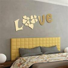 Removable Wall Sticker Love Heart Acrylic Living Room Wall Decal Art Mural Decal