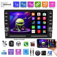 8in Android 9.1 GPS Player Car Stereo Audio MP5 Bluetooth 2.5D Mirror Link Touch