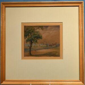 Canadian 1930 small watercolour AJC (A.J. Casson Att.) Hanlan's Toronto