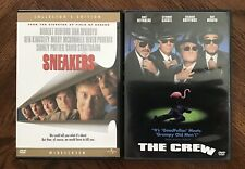 Sneakers (DVD, 2003, Collectors Edition) + The Crew (DVD)