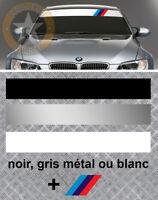 BANDE PARE SOLEIL POUR BMW M3 MOTORSPORT RACING AUTOCOLLANT STICKER BD531