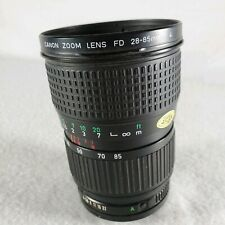 Canon 28-85mm f4 FD manual focus macro zoom lens for A1 AE-1 F1