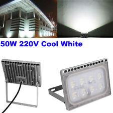 Outdoor 50W LED Flood Light Security Landscape Garden Wall Lamp Spotlight 220V