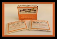Vintage Johnson's Foot Soap Late 60s-Early 70s - Contains 2 Packets