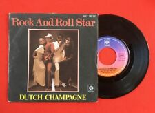 DUTCH CHAMPAGNE ROCK AND ROLL STAR KISS YOU BABY 45PY140182 VG VINYLE 45T SP