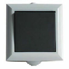 Lyvia Dencon Outdoor Waterproof Light Switch - 1 Gang 2Way Switch