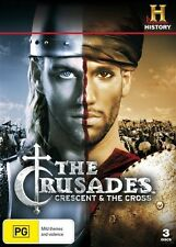 The Crusades - Crescent And The Cross (DVD, 2009, 3-Disc Set)