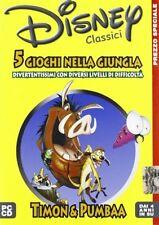 Disney - Timon & Pumbaa - 5 Giochi Nella Giungla PC CD-Rom