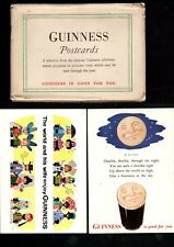 Guinness postcards x 3  + envelope various themes not used - on very thick card
