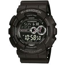 Casio G-shock Black Mens Wrist Watch Digital Gd-100-1ber