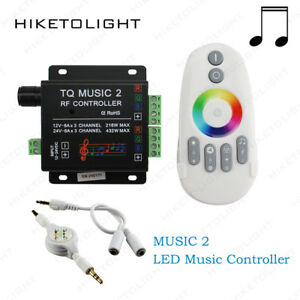 Music RF Wireless Touch Remote Controller for 5050 3825 LED Strip Light 18A KTV