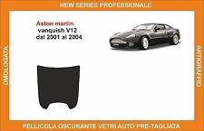 pellicola oscurante vetri aston martin vanquish v12 dal 2001-2004 kit lunotto