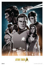 Star Trek Original Trek 50th Anniversary TV Show Poster 13x19