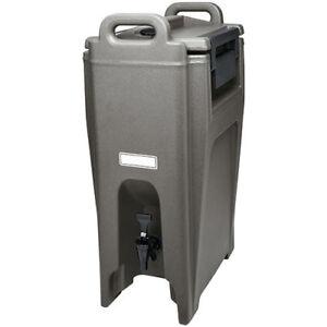 Cambro UC500186 Insulated Drink Container, Ultra, 5-1/4 Gallon, Black