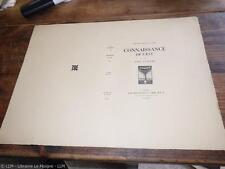 1925.Connaissance de l'est (couverture seule état imprimeur neuf).Paul Claudel
