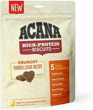 New ListingAcana Crunchy Turkey Biscuits Dog Treats and Dog Food No Added Artificial