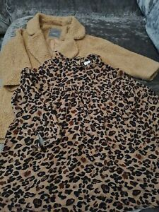 Next dress and Teddybear coat age 4 and 5