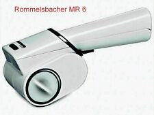Rommelsbacher MR 6 elektrische Käsereibe / Trommelreibe für Parmesan, Nüsse,...