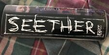 Seether Seether.com 5 Inch Sticker Disclaimer Promo