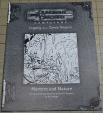 Legacy of the Green Regent NURTURE AND NATURE 3.5 RPGA adventure !!
