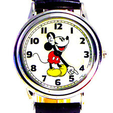 Mickey Store Disney Fossil Easy Read Mans Rare New Collectible Watch LI-2001 $99
