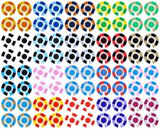 ACCLAIM Self Adhesive Segmented Bowls Bowlers Identity Stickers Full Sets Of 4