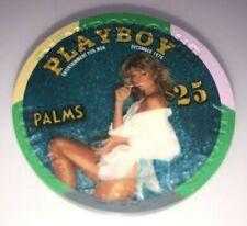 Palms Casino Las Vegas Nevada $25 Chip Playboy SEXY Farrah Fawcett December 1978