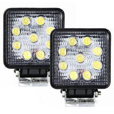 2x 27W LED Arbeitsscheinwerfer Offroad Scheinwerfer Flutlicht 12V 24V IP67 Jeep