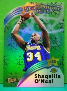 Shaquille O'Neal insert card Star Power Plus 1997-98 Fleer Ultra #4