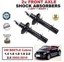 2x ant. AMMORTIZZATORI per VW BEETLE Cabrio 1.4 1.6 1.8 1.9 2.0 2.5 2002-2010