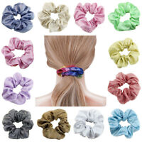 Glitter Shiny Elastic Hair Bands Ponytail Hair Tie Band Ring Scrunchie Hair Rope