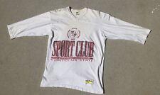 Vtg 70s Velva Sheen Montclair State Medium Sports College 1970s Tee T-shirt 3/4
