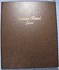 Indian Head Penny collection NEW Dansco cent album  (5 C-N and 31 br = 36 coins)