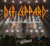 DEF LEPPARD-AND THERE WILL BE A NEXT TIME...LIVE FROM DETROIT  2CD+DVD NEW