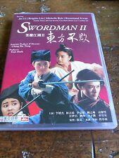 Swordman II DVD Martial Arts Jet Lee RARE!!! All Region