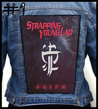 STRAPPING YOUNG LAD  --- Huge Jacket Back Patch Backpatch --- Various Designs