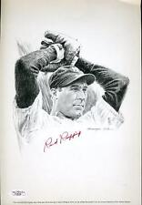 Red Ruffing Signed Jsa Certed 8x10 Litho Photo Autograph