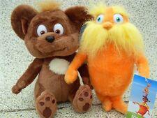 "The Lorax & Bar-Ba-Loots Bear 2PCS Dr.Seuss 9"" Gift Plush Toy"