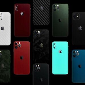 Für iPhone 11 12 Pro X 6 7 X 11 Xr Skin Wrap Folie XS 3M Aufkleber Schutzfolie